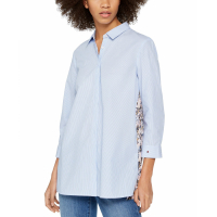 Tommy Hilfiger Women's 'Pleated-Back' Shirt