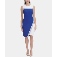 Tommy Hilfiger Women's 'Asymmetrical' Colour Block Dress