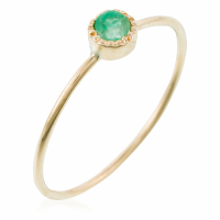 By Colette Women's 'Rond Emeraude' Ring
