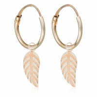 By Colette Women's 'Feuillage' Earrings