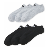 Adidas Men's 'No Show Ankle' Socks - 6 Pairs