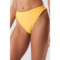 Hanna Weig x NA-KD Women's 'Gathered' Bikini Bottom