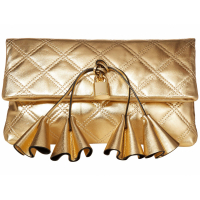Marc Jacobs Women's 'Sofia Loves The Metallic' Clutch