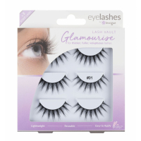 Invogue 'Multipack' Fake Lashes Set - Vault 1 3 Pack