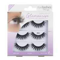 Invogue 'Multipack' Fake Lashes Set - Vault 4 3 Pack