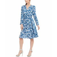Calvin Klein Women's 'Printed' A-line Dress