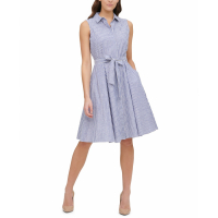 Tommy Hilfiger Women's 'Striped' Shirtdress