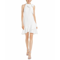Vince Camuto Women's 'Bow-Neck' A-line Dress