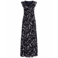 LAUREN Ralph Lauren Women's 'Floral Georgette' Sleeveless Dress