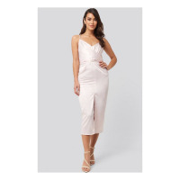 NA-KD Party Women's  Midi Dress