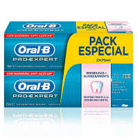 Oral-B 'Pro-Expert Sensitivity & Whitening' Toothpaste - 75 ml, 2 Units