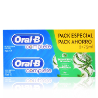 Oral-B 'Complete Rinse + Whitening' Toothpaste - 75 ml, 2 Units