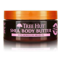 Tree Hut '24 Hour Intense Hydrating Shea' Körperbutter - Moroccan Rose 198 g