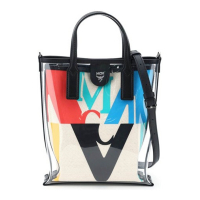 MCM Women's 'Logo Transparent Mini' Shopper