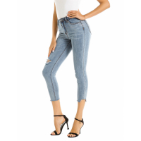 Stylebobon Women's Cropped Jeans
