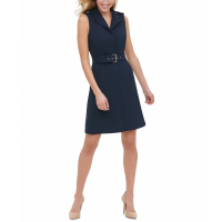Tommy Hilfiger Women's 'Belted' Sleeveless Dress