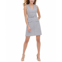 Tommy Hilfiger Women's 'Rope Belted' A-line Dress