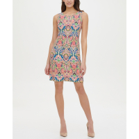 Tommy Hilfiger Women's 'Printed A-Line' Dress