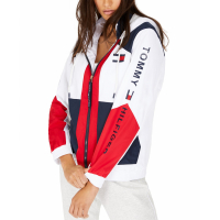 Tommy Hilfiger Women's 'Colorblocked Zip-Up' Jacket