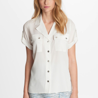 Karl Lagerfeld Women's 'Camp' Short sleeve shirt