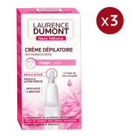 Laurence Dumont France Gesichtsenthaarungscreme - 20 ml, 3 Pack