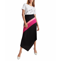 DKNY Jupe 'Pleated Asymmetrical' pour Femmes