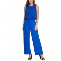 DKNY Women's 'Pleated Chiffon' Jumpsuit