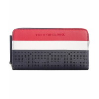Tommy Hilfiger Women's 'Callie Perforated Zip' Wallet