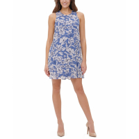 Tommy Hilfiger Women's 'Olivia Floral Shift' Sleeveless Dress