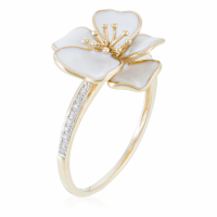 Diamantini 'Orchidée' Ring für Damen