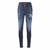 Dsquared2 Jeans skinny 'Distressed Zipped Ankle' pour Femmes