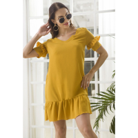 Causey Women's Short-Sleeved Dress