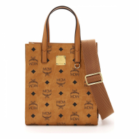 MCM Women's 'Klassik Visetos Mini' Tote Bag