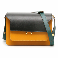 Marni Women's 'Medium Trunk Tricolor' Crossbody Bag