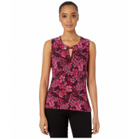 Tommy Hilfiger Women's 'Floral Grommet' Sleeveless Top