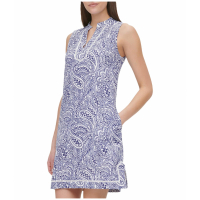 Tommy Hilfiger Women's 'Atlas Paisley' A-line Dress