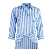 New York & Company Women's 'Striped Button Down' Shirt