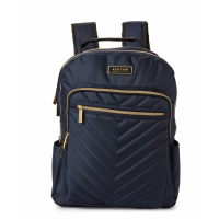 Kenneth Cole Reaction Men's 'Navy Chevron Quilted' Backpack