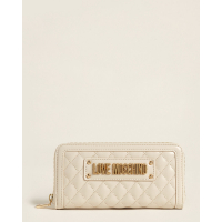 Love Moschino Women's 'Logo Zip-Around' Wallet