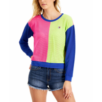 Tommy Hilfiger Women's 'Colorblocked' Sweatshirt