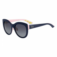 Dior Women's 'DIORDECALE1F BR0 BLUE PINK' Sunglasses