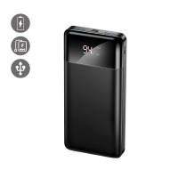 La Coque Francaise 'Display' Power Bank for Universal - Black