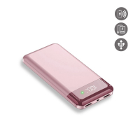 La Coque Francaise 'Induction' Power Bank for Universal - Rose Gold