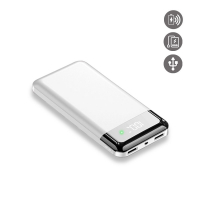 La Coque Francaise Induction Power Bank for Universal - Gold, White