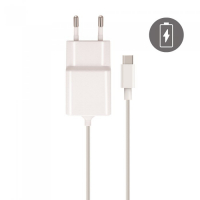 La Coque Francaise Type-C Cable & Charger for Android - White 2.1 Amps