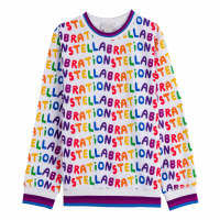 Stella McCartney Kids Pull-over 'Stellabration' pour Filles