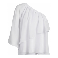 New York & Company Women's 'One Shoulder Ruffled' Blouse