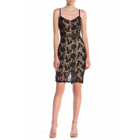 Max & Ash Women's 'Lace Bodycon' Sleeveless Dress
