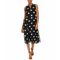 Anne Klein Women's 'Dot' Midi Dress