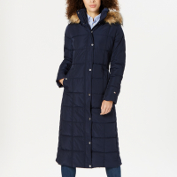 Tommy Hilfiger Women's 'Hooded Maxi' Puffer Coat